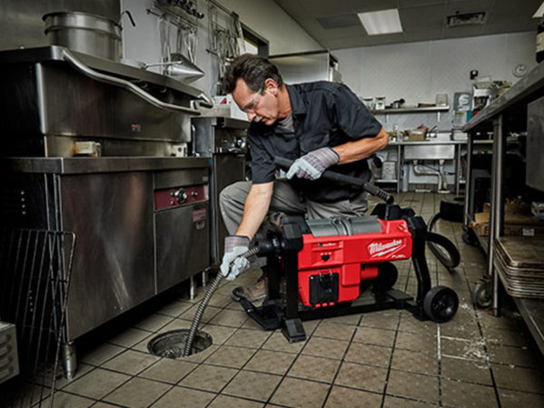 Milwaukee Tool M18 FUEL Sewer Sectional Machine with CABLE-DRIVE