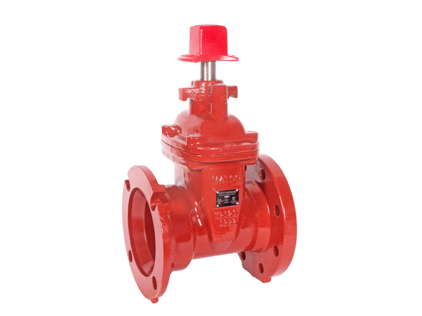 Matco-Norca A225FJR Flanged x MJ Gate Valve with Open Right Option