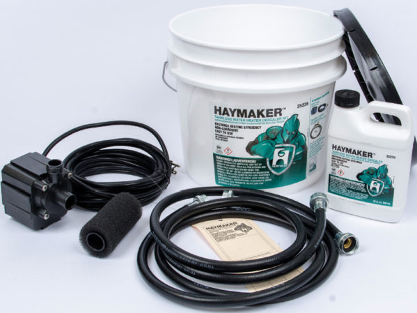 Oatey Hercules Haymaker Tankless Water Heater Descaler Kit 2