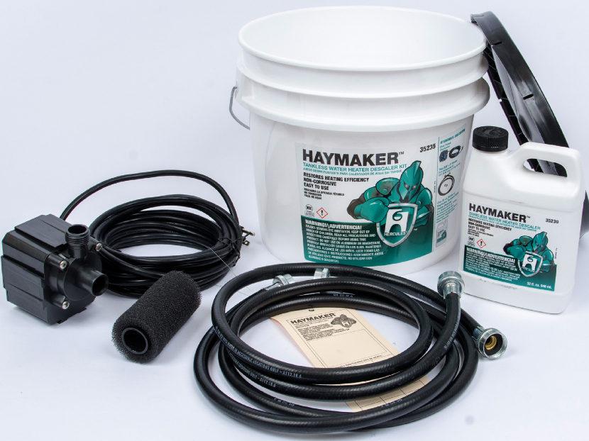 Oatey Hercules Haymaker Tankless Water Heater Descaler Kit 2