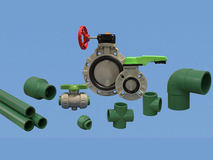 Asahi/America Asahitec PP-RCT Piping System