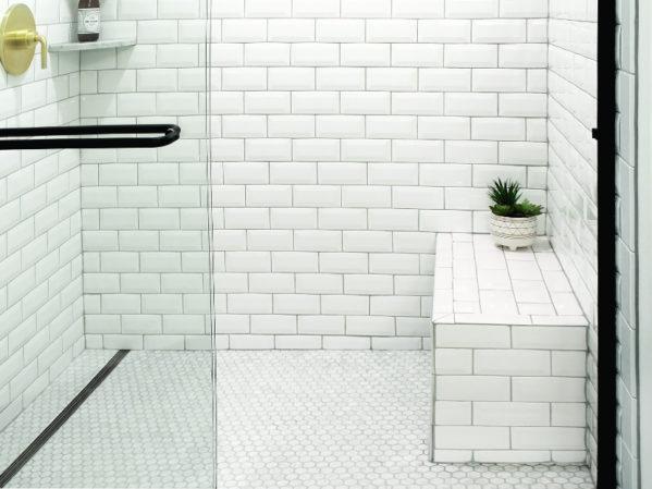 QuickDrain Shower Bench 2