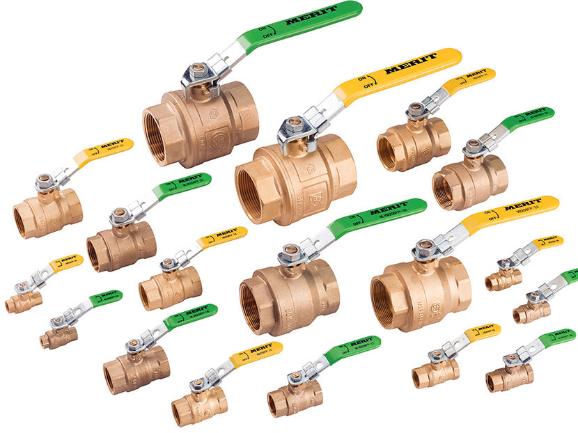 Merit-Brass-Lead-Free-and-Leaded-Ball-Valves