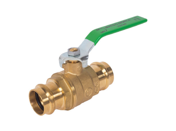 Matco-Norca Lead Free Press Ball Valve