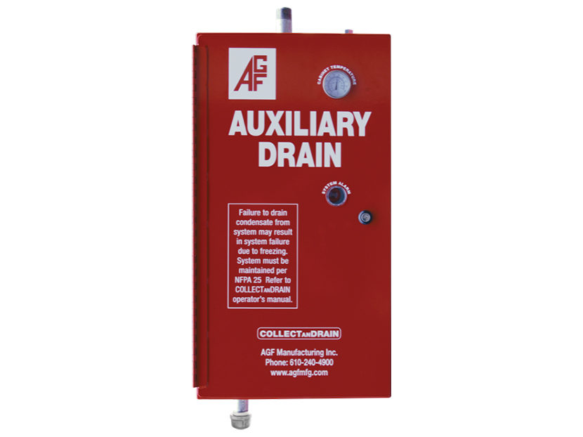 AGF Manufacturing COLLECTANDRAIN Model 5500 Automatic Auxiliary Drain