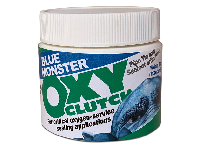 Blue Monster OXY-Clutch from Clean-Fit Products, a Division of The Mill-Rose Co.