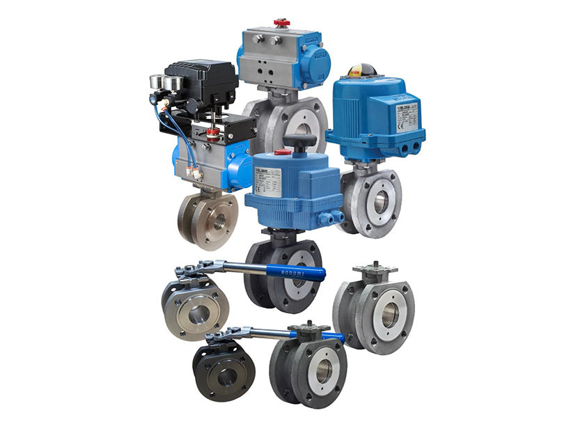 """Bonomi North America 723/724 """"Skid Series"""" Industrial Wafer Ball Valves Packages"""