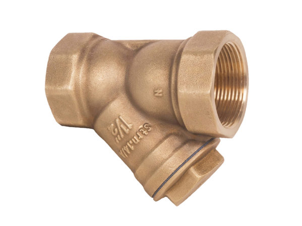 Matco-Norca Lead Free Forged Brass Y Strainer 146TLF Economy Series