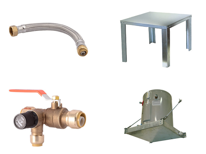 Reliance Worldwide Corp. Water Heater Installation System