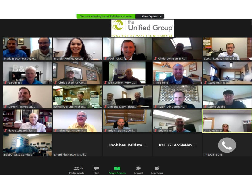The Unified Group Holds Annual Meeting Via Zoom 2
