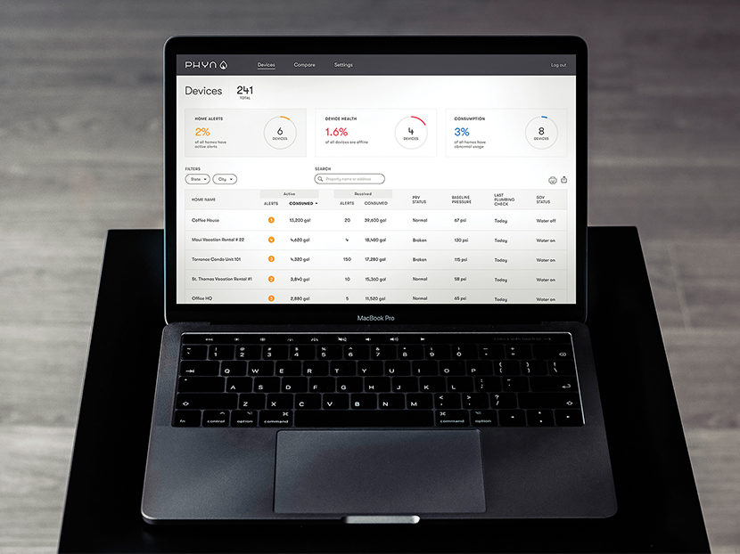 Phyn Plus Launches B2B Dashboard and Announces New Tech Enhancements