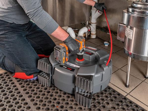 RIDGID FlexShaftDrain Cleaning Machines