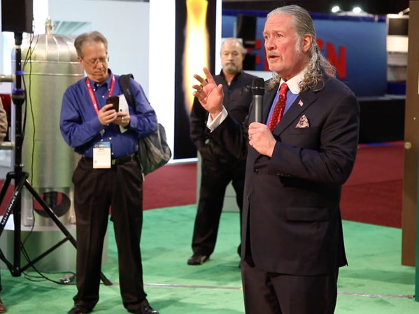 Taco Comfort Solutions Holds Press Briefing, Presents Award at 2019 AHR Expo