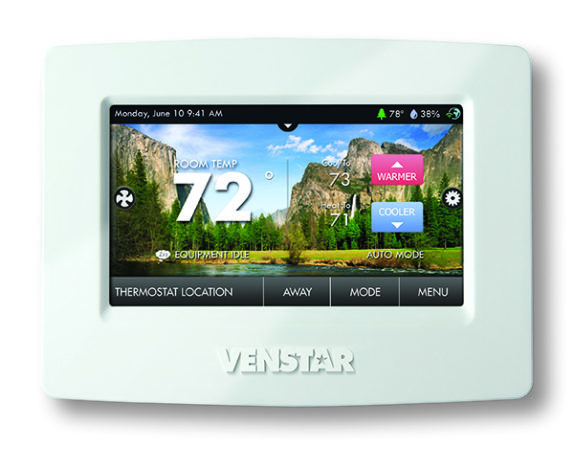 ColorTouch programmable touch screen thermostats