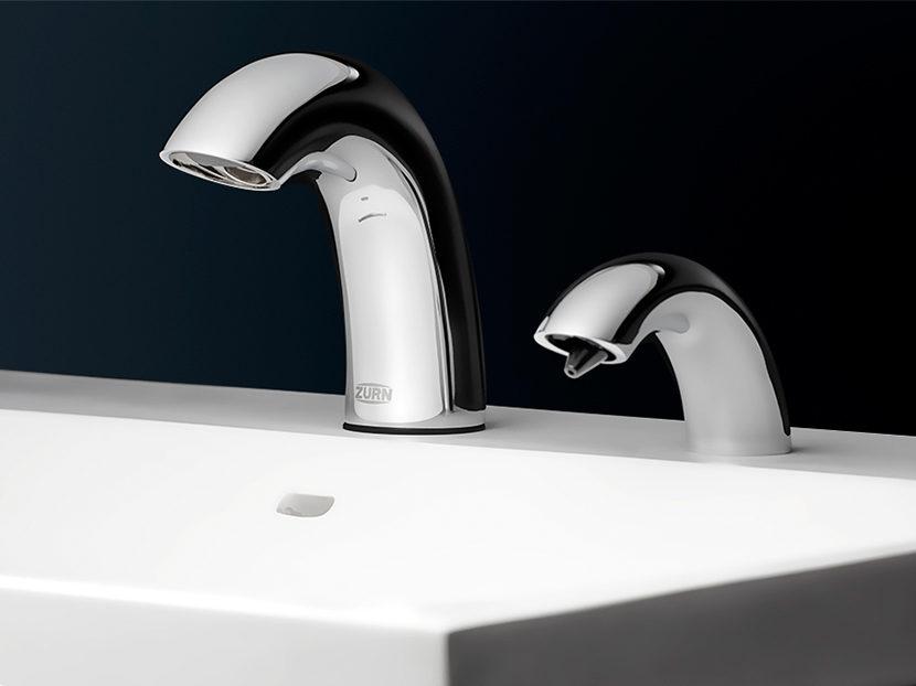Zurn Serio Series Sensor Faucet and Soap Dispenser