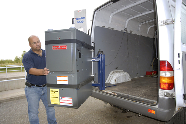 PowerMate Moving A  Furnace LiftGate
