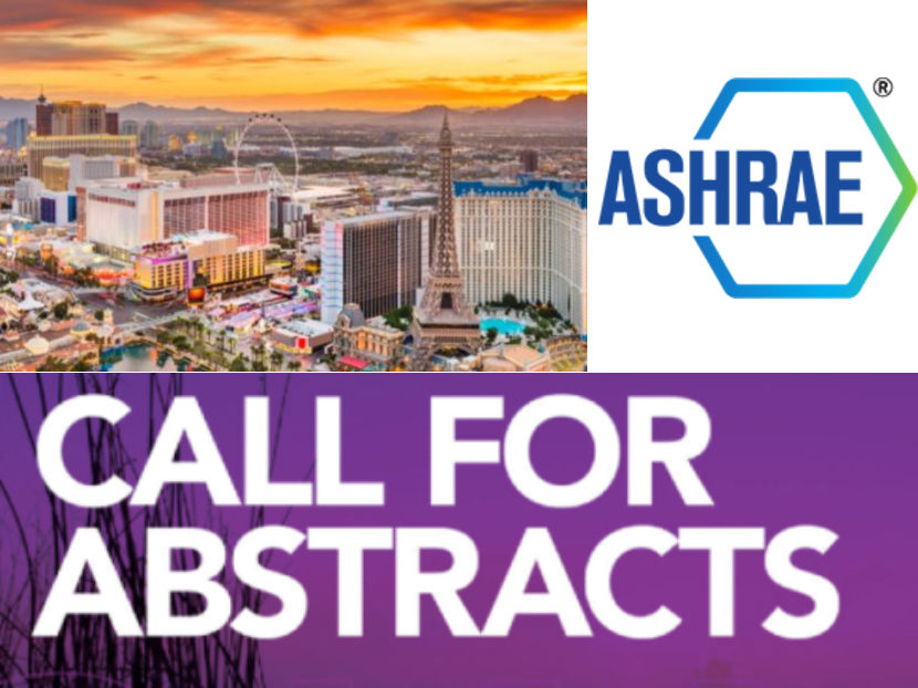 Call for Abstracts Open for ASHRAE 2022 Winter Conference in Las Vegas